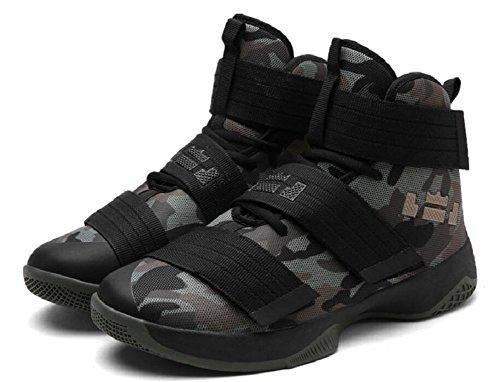 Männer Basketball Schuhe für Frauen Performance Sport Klett Turnschuhe von JiYe Tarnung