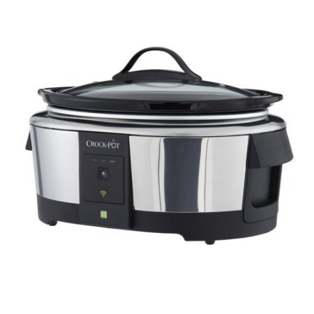 Crock-Pot 6-Quart Wi-fi Controlled Smart Slow Cooker