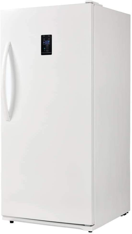 Upright Convertible All Fridge//All Freezer in White Danby Energy Star 13.8-Cu Ft