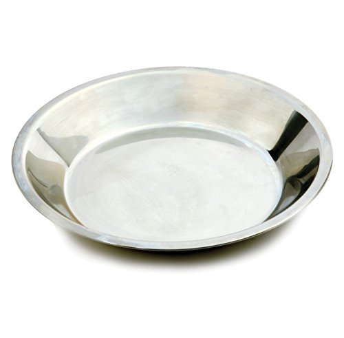 Stainless Steel 9'' Pie Pan Quiche Fruit Pumpkin Holiday Baking by Pie Pans