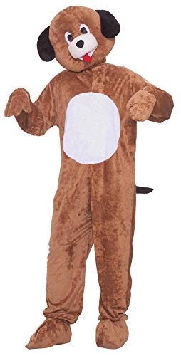 UHC Puppy Plush Mascot Funny Comical Theme Party Halloween Fancy Costume, OS