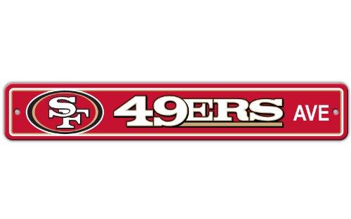 San Francisco 49ers Street Sign Yard Signs Patio