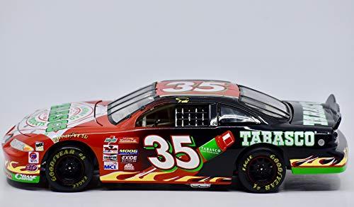 1998 - Action Platinum/NASCAR - Todd Bodine #35 - Tabasco Brand - Pontiac Grand Prix - 1:24 Scale Die Cast - Rare Red & Black Car - Mint - Collectible