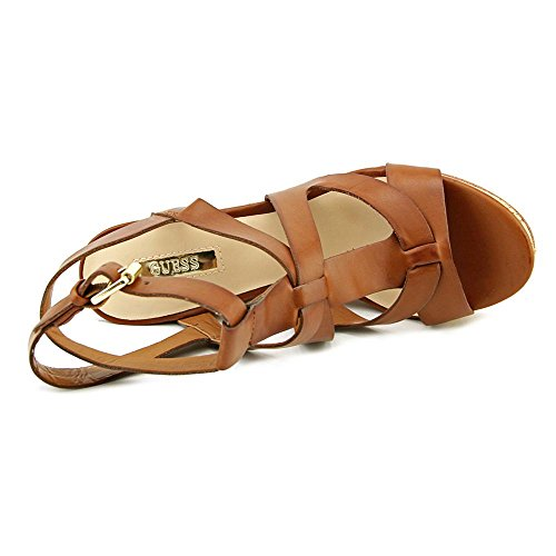 Cuñas de harlea Brown Medium Guess corcho HvxSnqw