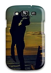 New Tpu Hard Case Premium Galaxy S3 Skin Case Cover(i Will Never Let You Fall)