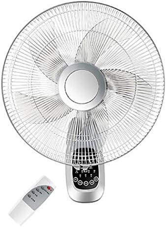 Ventilador montado en la Pared de 16 Pulgadas, Ventilador mecánico de Control Remoto, Ventilador Industrial silencioso de bajo Consumo: Amazon.es: Hogar