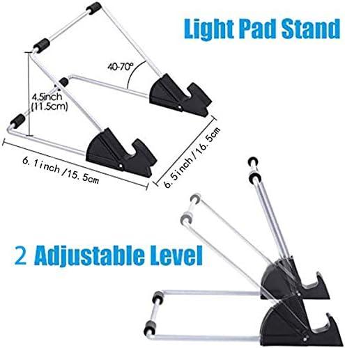 Brillo Ajustable de La Mesa de Luz Accesorios para Pintar Diamantes con Soporte Extra/íble para Cable USB Ideal para Pintar Diamantes INSANYJ Almohadilla de Luz LED Dise/ñar Dibujar