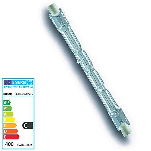 Osram 64702 Haloline Pro Ampoule Lineaire Eco Halogéne 114,2mm 230v 400w R7s. Équivalent à 500w.