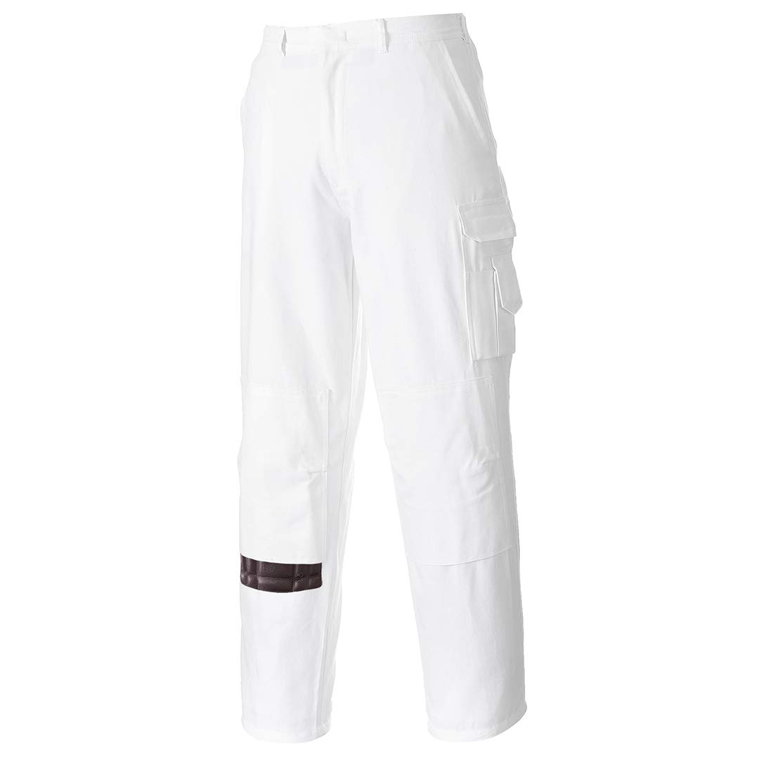 Portwest Painters Trousers Work Pants Protection Protect Overall Decorator Paint, 3 XL White