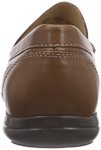 Sioux Gilio, Men's Mocassins Brown - Braun (Cognac)