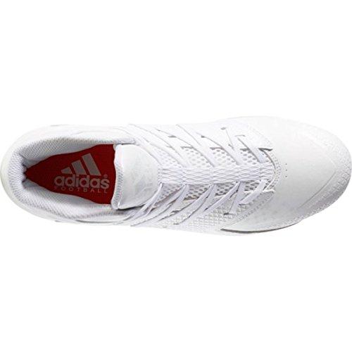 Adidas Freak X Karbon Midten Menns Fotball Klamp Hvit