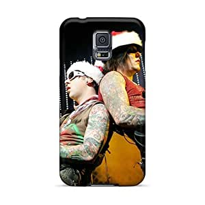 Shock-Absorbing Hard Cell-phone Cases For Samsung Galaxy S5 (mEA13133bxzl) Allow Personal Design Colorful Avenged Sevenfold Image