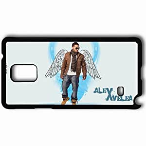 Personalized Samsung Note 4 Cell phone Case/Cover Skin Alex Velea Wings Clothes Mirrow Glasses Black