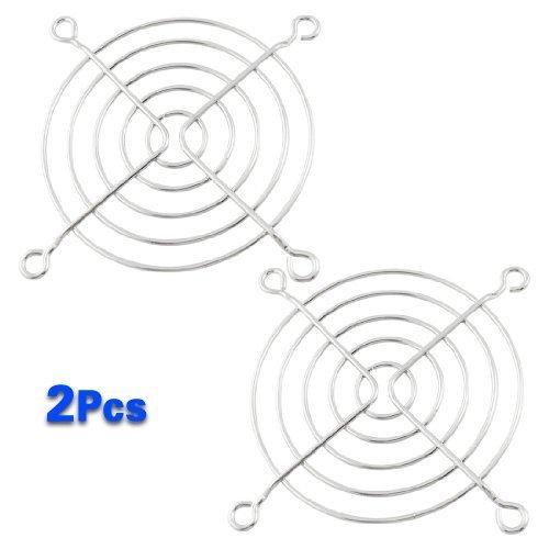 2 opinioni per TOOGOO (R) 2 x Protezione per le dita PC DC Ventilatore Griglia Protettore 8