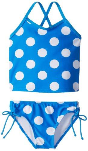 Blue Toddler Two Piece - Kanu Surf Toddler Girls' Alexa Beach Sport 2-Piece Banded Tankini Swimsuit, Beachball Blue Dot, 2T