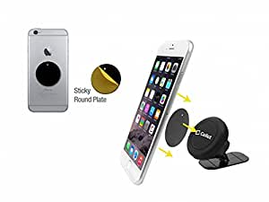 Cell Accessories For Less (TM) Cellet Extra Strength Magnetic Car Dashboard Mount Phone Holder for Samsung Galaxy S8 Active Bundle (Stylus & Micro Cleaning Cloth) - By TheTargetBuys