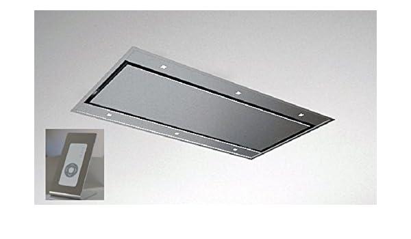 Galvamet Line UP 87/A IX - Campana de techo con mando a distancia (90 cm, eficiencia energética A): Amazon.es: Grandes electrodomésticos