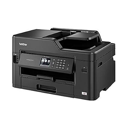 Brother MFC-J5330DW- Impresora multifunción por inyección de tinta, con wifi, 128 MB de memoria, 530 x 398 x 304 mm | 16.9kg, color negro [Importado ...