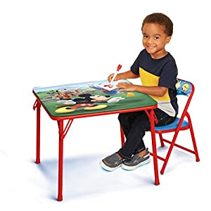 Mickey Kids Table & Chair Set, Junior Table for Toddlers Ages 2-5 Years