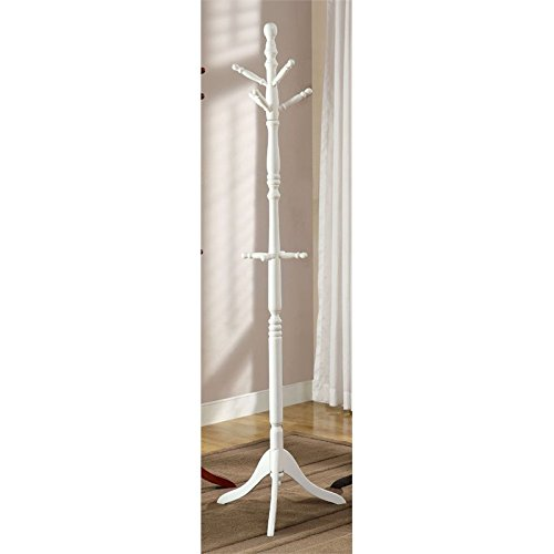 Furniture of America Kimble Transitional Coat Rack in White