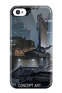 4618986K26459236 Series Skin Case Cover For Iphone 4/4s(halo 5: Guardians)