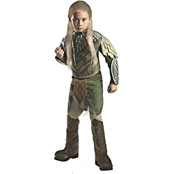 The Hobbit: Desolation of Smaug, Deluxe Legolas Costume, Child Small - Small One Color