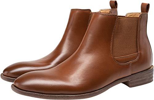 Pictures of JOUSEN Men's Chelsea Boots Elastic Formal Casual Chelsea Boots 10 M US 3