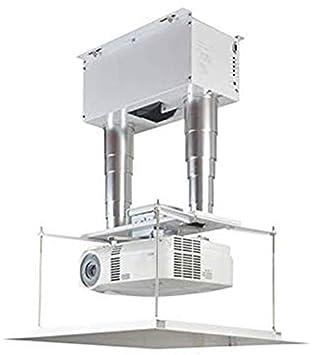 CGOLDENWALL Soporte de Techo para proyector eléctrico con ...