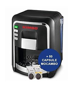Kimbo capsy Cápsula eléctrica Negro con 50 unidades, de mocambo Cápsulas de Café: Amazon.es: Hogar