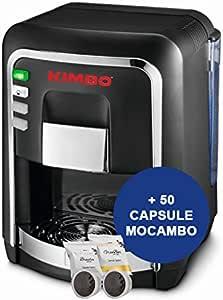 Kimbo capsy Cápsula eléctrica Negro con 50 unidades, de mocambo ...