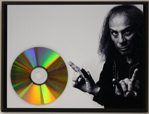 Dio 24Kt Gold CD Disc Display Award Quality - Limited Edition