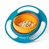 Baby Gyro Bowl 360 Dgree Rotation Spill Resistant