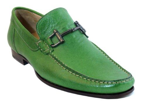Zapatillas Hombre Boemos 1087 Italian Slip On Zapatos Green