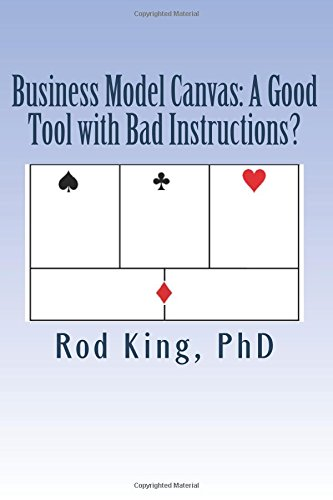 Business Model Canvas: A Good Tool with Bad Instructions?