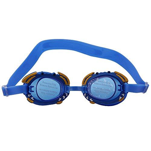 OGOBVCK fini miroir petit lunettes Bleue enfants uv aux protection lens fish avec lunettes EnrWExg6