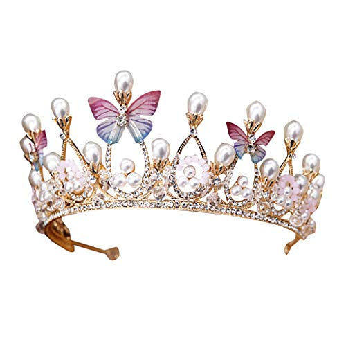 - Headwear Ikevan Bride Crown Zircon Rhinestone Luminous Luxury Wedding Bridal Jewelry Tiara Gifts
