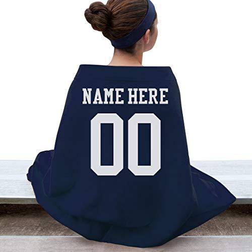 Custom Sports Mom Blanket: Gildan DryBlend Stadium Blanket