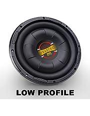 "BOSS D10F Audio Phantom 10"" Single Voice Coil (4 Ohm) 800W Subwoofer, Black"