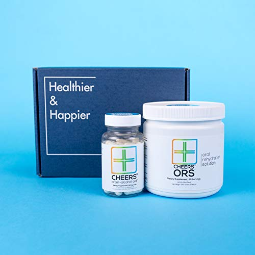Cheers (Formerly Thrive+) After Alcohol Aid & ORS Combo | for Fast Alcohol Detox & Rehydration Recovery After Drinking Alcohol. Replenish with Our Electrolyte Formula … (Double) by Cheers (Image #4)