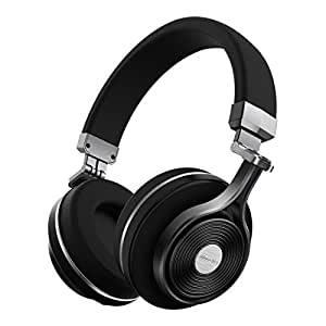 Bluedio T3 (Turbine 3rd) Extra Bass Wireless Bluetooth 4.1 Stereo Headphones (Black)