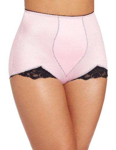 Rago Women's V-Leg Panty, Pink, Large (30)