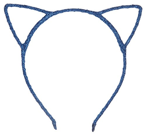 Bonnie Z. Leonardo Girls Blue Cat Ears Headband Shining Blue 1pcs - Blue Cat Ears