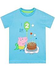 Peppa Pig Jongens T-Shirt George Pig 'ik ben 2'