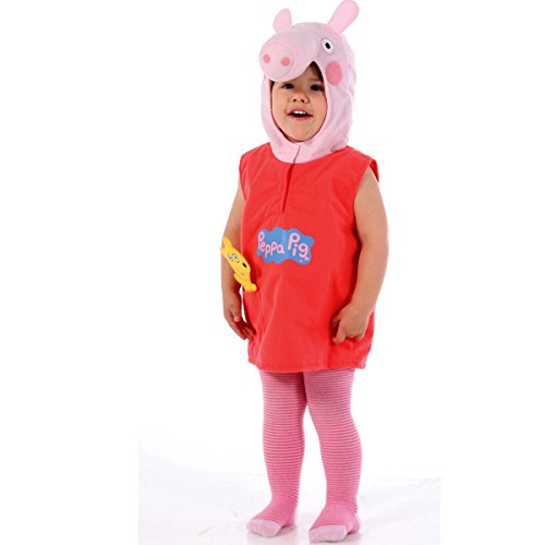 Costume De Porc Peppa - Costumée Enfant