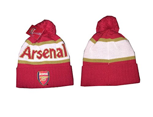 Arsenal Beanie skull cap hat Authentic Official Licensed Product Soccer Beanie