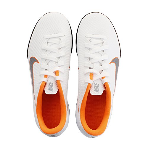 1 Vapor Ah7355 Unisex Football Adults' NIKE Arancio Club Bianco Jr Mercurial Boots X 12 Tf tvwagzqay