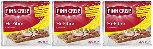 Crackers: Finn Crisp Hi-Fibre