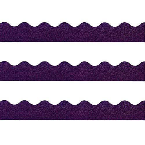TREND ENTERPRISES, INC. Terrific Trimmers Sparkle Border, 2 1/4 x 39 Panels, Purple, 10 per -