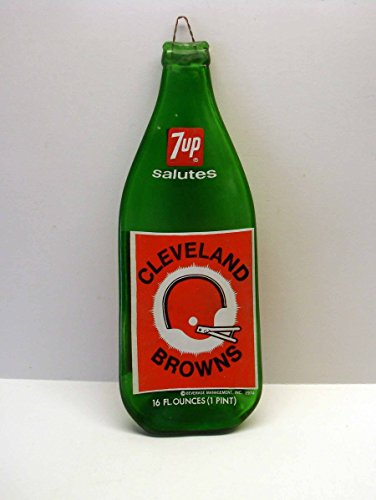 cleveland-browns-1974-commemorative-7-up-soda-16-0z-bottle-slumped-cutting-board-or-spoon-rest