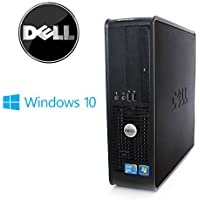 Dell Optiplex  Computer Windows 10 Pro Intel Core 2 Duo 3.0 Ghz - New 4GB RAM -  500GB HDD-(Certified Reconditioned)